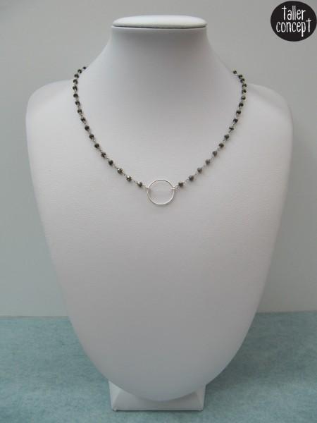 Collar Pirita Plata